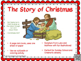 Christmas Story Printable Mini Book Craft