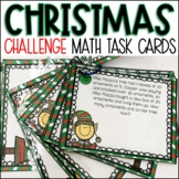 Christmas Math Challenge Story Problems   2nd or 3rd Grade