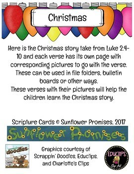 Christmas Story Scripture Pack