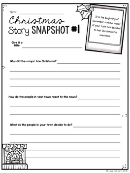 Christmas Story Snapshots - 12 Christmas Writing Prompts