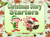 Christmas Story Starters - 28 Story Task Cards