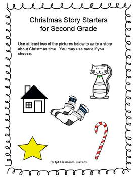 Christmas Story Starter for 2nd Grade