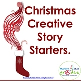 Christmas Writing Prompts-story starters, activities,