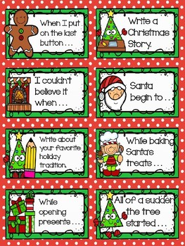 Story Starters- Christmas