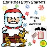 Christmas Story Starters & Craftivity