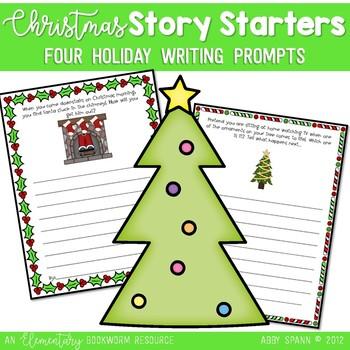 Christmas Story Starters {FREEBIE}