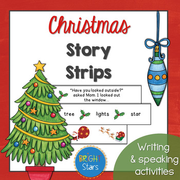 Christmas Story Strips: Storytelling, writing and sequenci