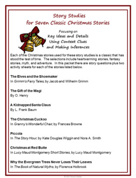Story Of Christmas.Christmas Story Studies