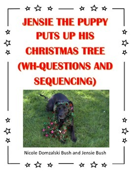 Christmas Story, Wh-Questions, and Sequencing