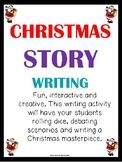 Christmas Story Writing - Christmas Writing Activity