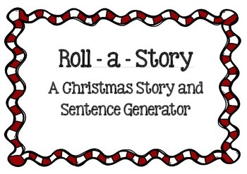 Christmas Story and Sentence Generator / Game / Prompts.