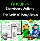 Christmas Activity - Lapbook Birth of Baby Jesus - Nativity - Sunday School