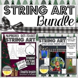 Christmas String Art Activity Pack Bundle / Ornament Craft / Parent Gift Bundle