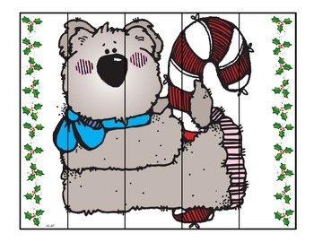 Christmas Strip Puzzles