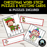 Christmas Strip Puzzles & Writing Cards - 16 included