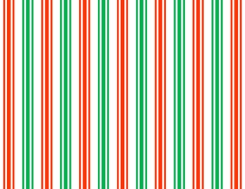 Digital Papers - Christmas Stripes, Chevrons and Plaids