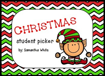 Christmas Student Picker
