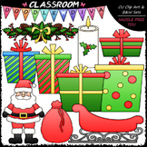 Christmas Stuff - Clip Art & B&W Set