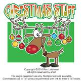 Christmas Stuff Cartoon Clipart