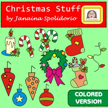 Christmas Stuff - Clipart - colored version