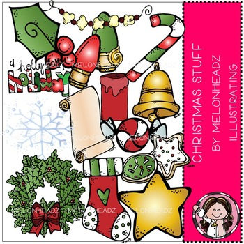 Melonheadz: Christmas Stuff clip art - COMBO PACK