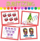 Christmas Subitizing Set - Colour me Confetti