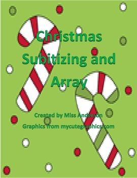 Christmas Subitizing and Array