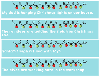 Christmas Subject and Verb Agreement