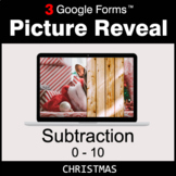 Christmas: Subtraction 0-10 - Google Forms Math Game | Dis