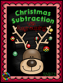 3.NBT.2 Christmas Themed 3 Digit Subtraction With Regrouping