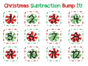 Christmas Subtraction Bump It
