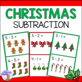 Christmas Subtraction Center