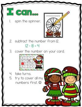 Christmas Subtraction Fun!