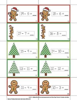 Gingerbread Subtraction