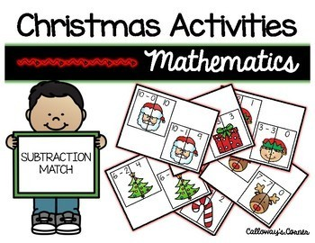 Christmas Subtraction Match