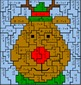 Christmas Subtraction Mystery Pictures