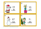 Christmas Subtraction Regrouping Task Cards