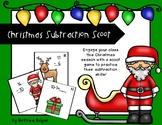 Christmas Subtraction Scoot