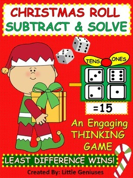 Christmas Subtraction With Strategy