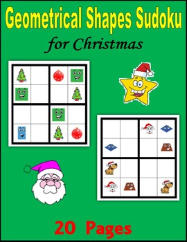 Christmas Sudoku:  Geometric Shapes