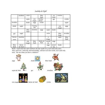 Christmas Sudoku.Christmas Sudoku French