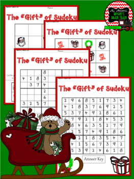 Christmas Sudoku Puzzle Bundle