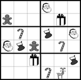 Christmas Sudoku Puzzles, holiday fun with patterns.