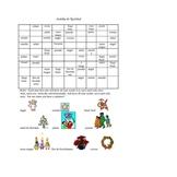 Christmas Sudoku - Spanish