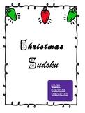 Christmas Sudoku Worksheets