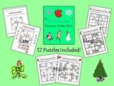 Christmas Sudoku for Kids - Easy, Medium, & Hard!
