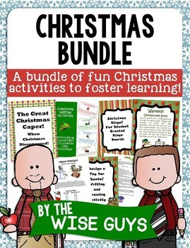 Christmas Writing and Math Bundle