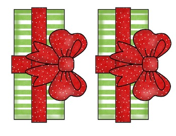 Christmas Surprise Package Writing Activity