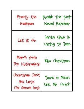 Christmas Surprise Sing Along