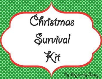 Christmas Survival Kit